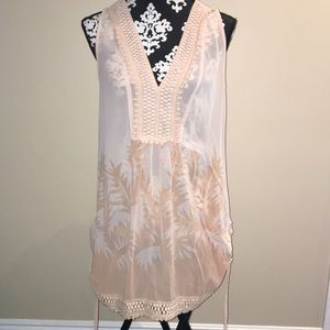 Sheer boutique shirt/dress